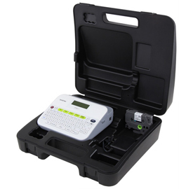 Brother PT-D400VP Label Maker with Ac Adapter & Carrying Case -